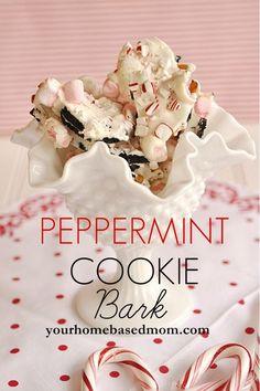 Peppermint Cookie Bark.