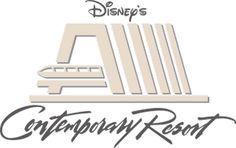 Hotel na Disney - Contemporary Resort - Dicas da Disney Disney Sign, Disney Cards, Disney Disney, Disney World Guide, Walt Disney World, Disney Vacation Club, Disney Vacations, Resorts Da Disney, Disney Contemporary Resort
