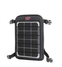 ###Solar Chargers on Bicycles ### Bike Touring and Solar Chargers FAQWhat chargers do you suggest for bicycle touring?How do you attach the chargers to the bike?How do I get fastest charge times on a bicycle?Panniers or trailer?What chargers do you suggest for bicycle touring?Most riders choose either our kits or Fuse systems. The bigger the panel, the faster your devices will charge and the large devices you will be able to charge. ^back to topHow do you attach the chargers to the bike?The…