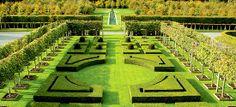 Richmond, a formal garden of international significance designed by owner Melanie Greenwood, New Zealand