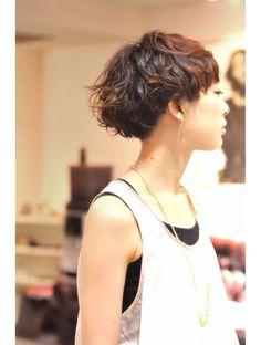 アンジョ(ANJO) ショッットぼぶ ANJO Short Hair Cuts For Women, Medium Hair Cuts, Shot Hair Styles, Curly Hair Styles, Short Hairstyles For Women, Cool Hairstyles, Japanese Short Hair, Haircut And Color, My Hairstyle