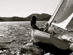 Ride in a sailboat <3