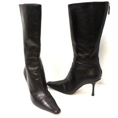 Jimmy Choo Signature Orchid Caffee Aden Tall Sz 36 Dark Brown Boots. Get the must-have boots of this season! These Jimmy Choo Signature Orchid Caffee Aden Tall Sz 36 Dark Brown Boots are a top 10 member favorite on Tradesy. Save on yours before they're sold out!