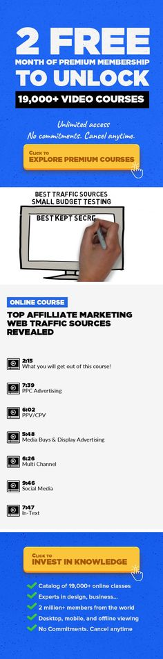 Top Affilliate Marketing Web Traffic Sources Revealed  Entrepreneurship, Marketing, Business, Advertising, Online, Hacks, Web Traffic #onlinecourses #CoursesAdvertising #onlineprogramsstudent   This course reveals, reviews, and explains some of the best kept secret sources of web traffic used my super affiliates and top internet marketers. If you have every considered a paid traffic campaign for y...