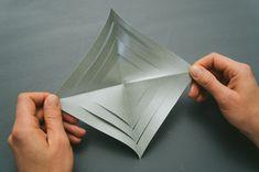 How to Make 3D Paper Snowflake - DIY & Crafts - Handimania