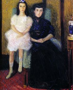 Richard Gerstl (Autriche, 1883-1908) – Mutter und Tochter (Mère et fille, 1906)