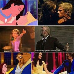 Disney and Hunger games