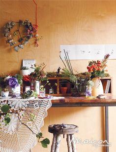 로맨틱한 빈티지 아틀리에. romantic vintage atelier