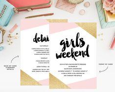Our Favorite Etsy Bachelorette Invitations