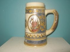 Budweiser Beer Stein Made In W. Germany By Staffel Stoneware by Junkblossoms on Etsy
