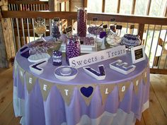 A great shot of our LOVE plates in use!  | Image by Events Beyond