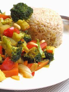 Madam Rote Rübe: Asiatische Gemüsepfanne, vegetarisch