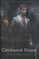 Clockwork Prince by Cassandra Clare. In the magical underworld of Victorian London, Tessa Gray has at last found safety with the Shadowhunters. But that safety proves fleeting when rogue forces in the Clave plot to see her protector, Charlotte, replaced as head of the Institute. If Charlotte loses her position, Tessa will be out on the street -- and easy prey for the mysterious Magister, who wants to use Tessa's powers for his own dark ends.