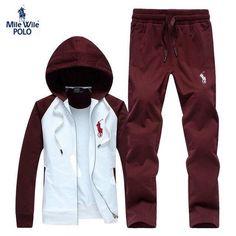 Polo jogging suit