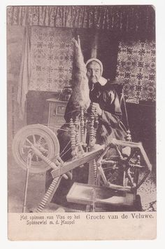 Dutch Spinning wheel 1906