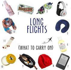 Flight Mode: What to Wear & What to Pack For Long Flights
