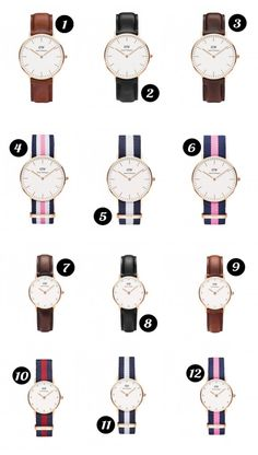 New year sales!!! By applying the code of 2017dw you can receive 30% off for all Daniel Wellington watches.