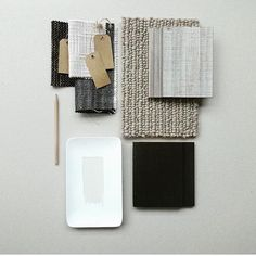 Add a beautiful 100% wool loop pile to your home design for textual interest that feels luxurious underfoot. This modern scheme by @the.stylemakers features Foss.