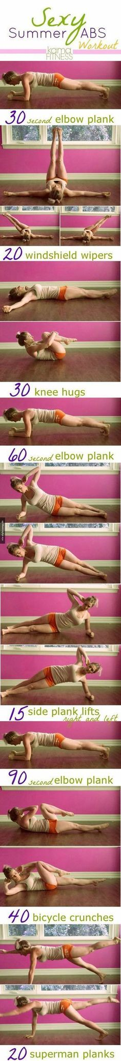 Abs workout (Burn Fat Thighs)