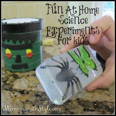 Fun At Home Science Experiments for Kids via AppleseedLane.com | MommieswithStyle.com