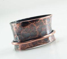 Copper Spinner Ring Rustic Copper Fidget Ring by UrbanJule on Etsy, $45.00