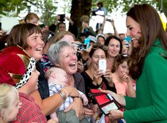 Kate grinned widely as she was presented with a rather humorous fake driver's license featuring the third in line to the throne.