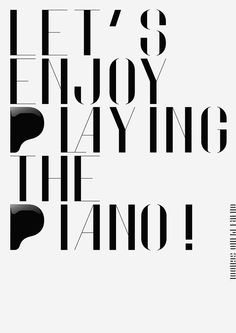 http://www.behance.net/gallery/Piano-School-Poster/1015625