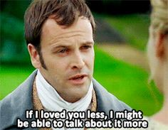 Jonny Lee Miller will forever be my favourite Mr. Knightley... might even like him better than Darcy... that's a tough one really ^^ | 29 Important Lessons Jane Austen Taught You About Love