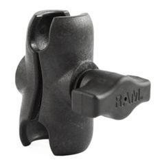RAM Mount Composite Short Double Socket Arm f/1 Ball