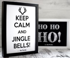 Keep Calm And Jingle Bells! Plakat do pobrania :)