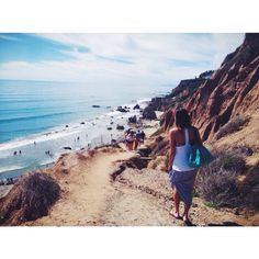 #Malibu: Our photographer captured this shot while walking down a steep dirt #trail at #ElMatador beach, one of the most beautiful beaches in Malibu. Photo taken by Dan Tundis. #localculture #california #calilove #comissionculture