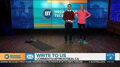 Get in Shape To Hits The Slopes! Watch my BT Montreal Segment