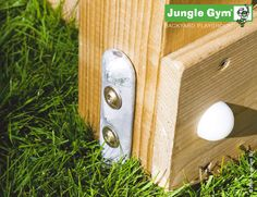 Ground anchors, because kids safety is always on our mind. Additionally, each Jungle Gym climbing frame, playhouse or swing set contains specially developed components to maximize the safety of the product. #JungleGym