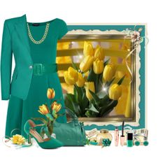 """""""tulips"""" by countrycousin on Polyvore"""