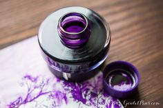This Lamy Dark Lilac ink is the perfect purple. Must have this.