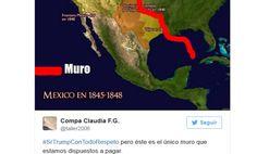 Tanto mexicanos como estadounidenses no perdieron la oportunidad para enviarle…