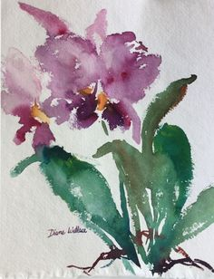Buy Zen Orchid #1, Watercolour by Diane Wallace on Artfinder. Discover thousands of other original paintings, prints, sculptures and photography from independent artists.