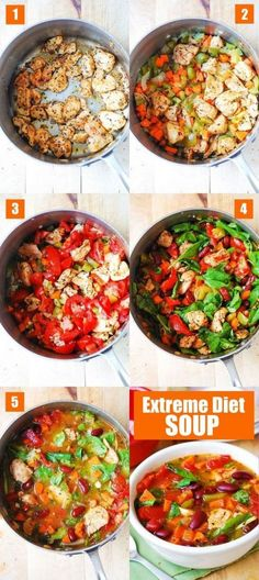 Extreme Diet Soup Lose Weight Fast and Easily with this delicious soup