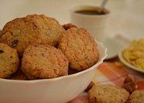 Sušenky z kukuřičných lupínků Muffin, Breakfast, Food, Morning Coffee, Essen, Muffins, Meals, Cupcakes, Yemek