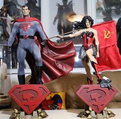 Red Son Superman & Wonder Woman