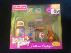 Accessories 2525: Fisher Price Loving Family Dollhouse Furniture 2010 Outdoor Barbeque Set Mib -> BUY IT NOW ONLY: $35.99 on eBay!