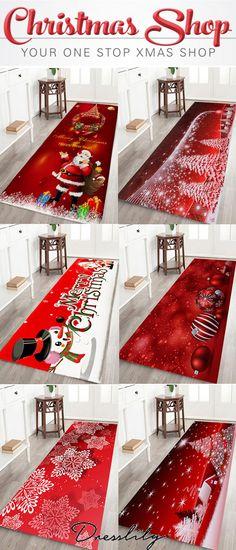 2020 Christmas Rugs Best Online For Sale Christmas Rugs, Christmas Shopping, All Things Christmas, Christmas Holidays, Christmas Crafts, Merry Christmas, Christmas Bathroom, Snacks Für Party, Bath Rugs