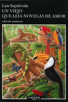 """http://clubleyenda.blogspot.com.es/ Nuestro libro para septiembre """"Un viejo que leía novelas de amor"""" de Luis Sepúlveda. #bibliotecaugr #ClubdeLectura"""
