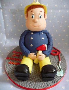 Lots: http://pinterest.com/cakesdecor/cakes-cake-decorating-~-daily-inspiration-ideas/ 3D Fireman Sam