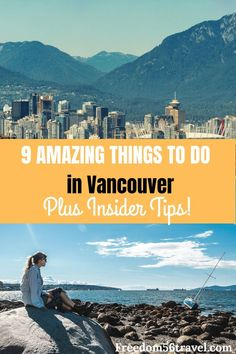 Do you know the 9 best things to do in Vancouver that only the insider's know? If you're in Vancouver in the Spring Summer Winter or Fall you need to know the non-touristy things to do in Gastown or if it's raining or with kids. Vancouver Things To Do, Visit Vancouver, Vancouver Travel, Vancouver Vacation, Alberta Canada, Banff, Travel Destinations, Travel Tips, Travel Ideas