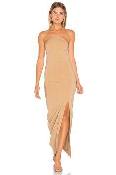 SWF Bridget Dress in Nude   REVOLVE