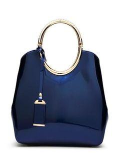 Blue Shoulder Hand Bag For Ladies. Borse NereBorsette Di ... f0628316254