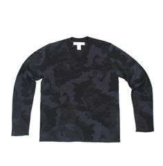 CDG Shirt Camo V- Neck Sweater