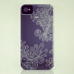 Custom Peranankan Motif iPhone case