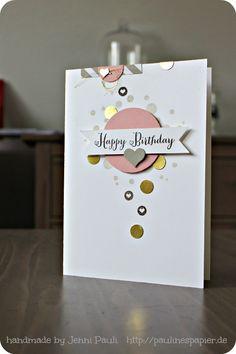 Geburtstagskarte…. (Paulines Papier)